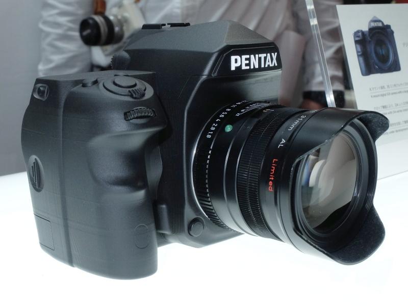 The Rest Of The New Pentax Full Frame K Mount Dslr Camera
