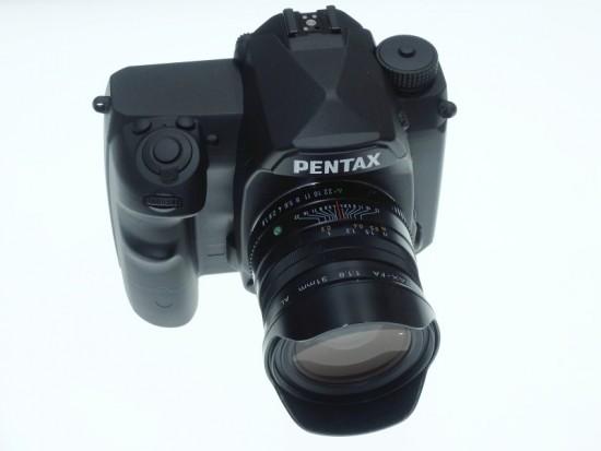 Pentax full frame K-mount DSLR camera 5