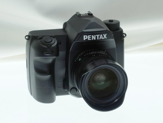 Pentax full frame K-mount DSLR camera