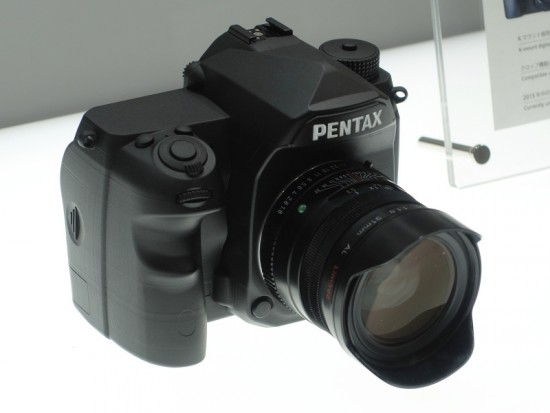 Pentax full frame K-mount DSLR camera 6