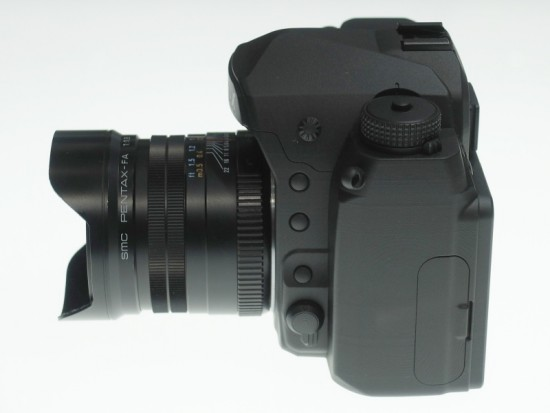 Pentax full frame K-mount DSLR camera 7