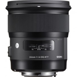 Sigma 24mm f:1.4 DG HSM Art Lens for Nikon F
