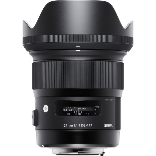 Sigma 24mm f:1.4 DG HSM Art Lens