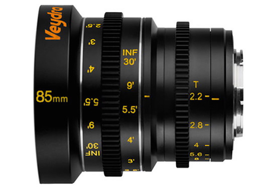 Veydra-85mm-T2.2-cinema-lens-for-Micro-Four-Thirds-mount