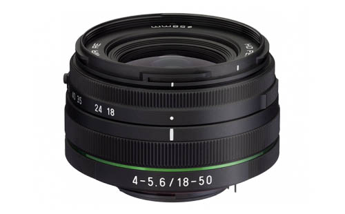 smc PENTAX-DA L 18-50mm F4-5.6 DC WR RE lens
