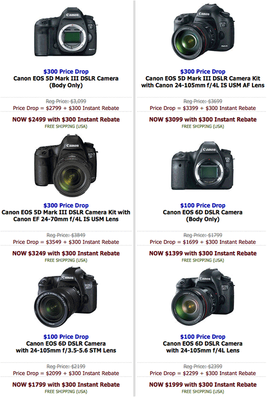 Canon-instant-rebates