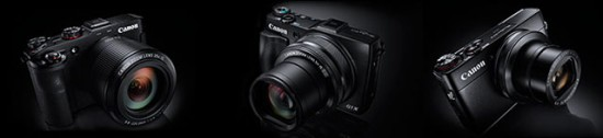 Canon premium compact camera with a large sensor leak