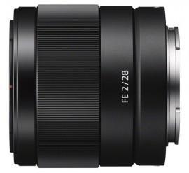 Sony FE 28mm f:2.0 lens