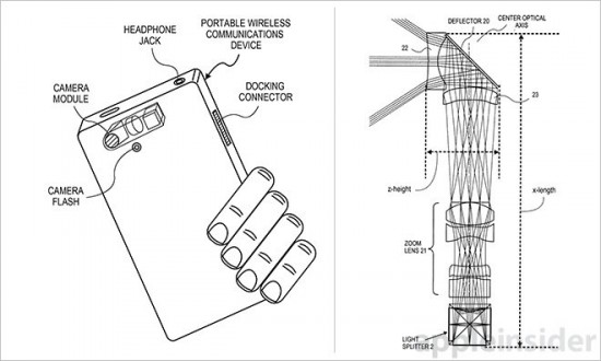 Apple field a patent for a 3-sensors iPhone camera