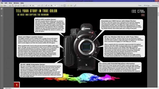 Canon C700x cinema camera 17