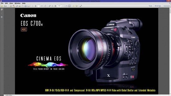 Canon C700x cinema camera 18