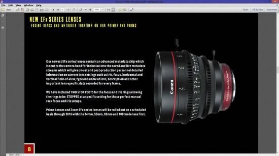 Canon C700x cinema camera 8