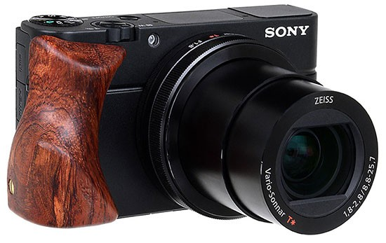 Fotodiox-cherry-wood-camera-grip-for-Sony-RX100-III