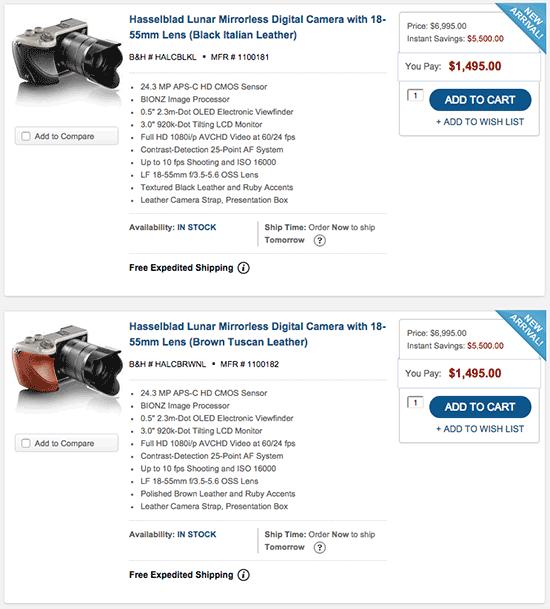Hasselblad-Lunar-mirrorless-camera-is-$5500-off