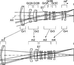 Konica Minolta 55-135mm f:3.5-5.6 lens patent