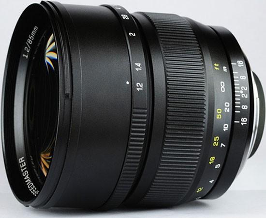 Mitakon-Speedmaster-85mm-f1.2-full-frame-lens