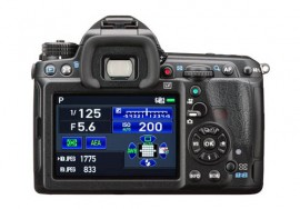 Pentax K-3 II DSLR camera back