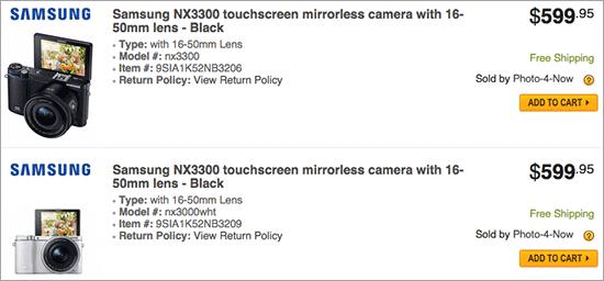 Samsung-NX3300-camera-for-sale