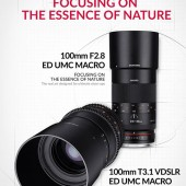 Samyang-100mm-f2.8-and-100mm-T3.1-VDSLR--ED-UMC-MACRO-lenses-officially-announced