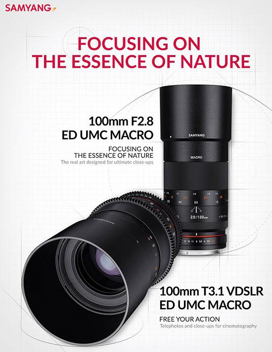 Samyang-100mm-f2.8-and-100mm-T3.1-VDSLR--ED-UMC-MACRO-lenses-officially-announced