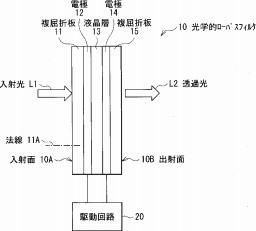 Sony LCD OLPF filter