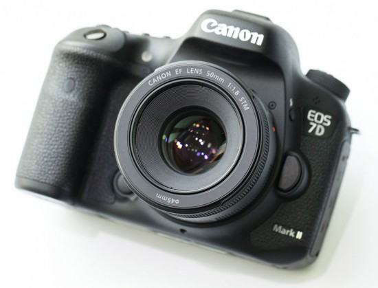 Canon-EF-50mm-f1.8-STM-lens-on-7D-DSLR-camera