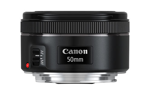 Canon EF 50mm f:1.8 STM lens