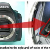 Canon EOS 5D camera service advisory