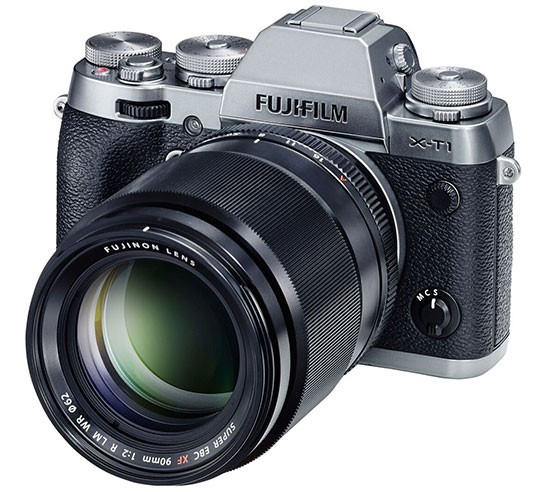 Fuji-X-T10-camera-with-Fujinon-XF-90mm-f2-R-LM-WR-lens
