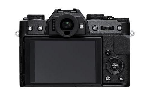 Fuji X-T10 mirrorless camera black 2