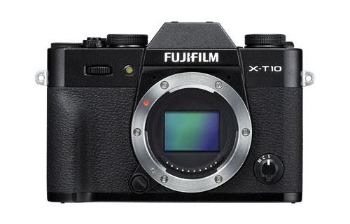 Fuji X-T10 mirrorless camera black