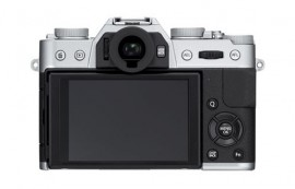 Fujifilm X-T10 mirrorless camera back
