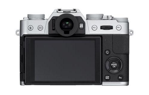 Fujifilm X-T10 mirrorless camera back