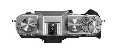 Fujifilm X-T10 mirrorless camera top