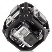 GoPro camera array for capturing VR AR video