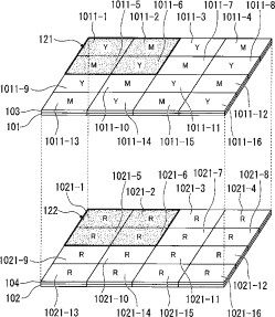 Olympus 2-layer RGBCMY sensor patent 2