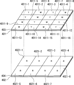 Olympus 2-layer RGBCMY sensor patent