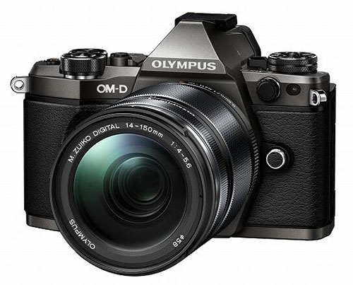 Olympus E-M5 Mark II limited edition titanium camera