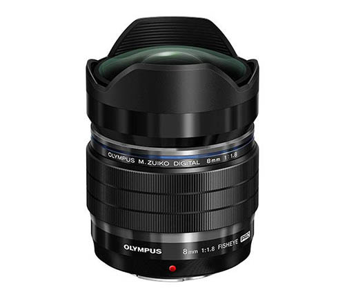 Olympus M.ZUIKO DIGITAL ED 8mm f:1.8 Fisheye PRO lens