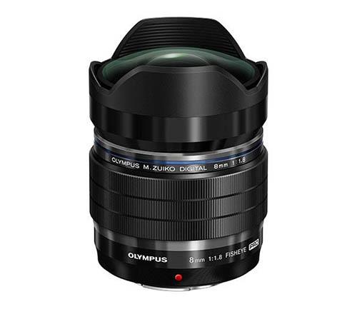 Olympus M.ZUIKO DIGITAL ED 8mm f:1.8 Fisheye PRO lens