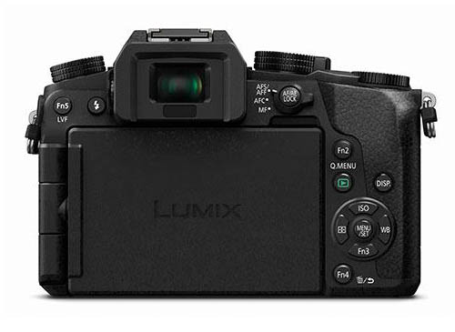 Panasonic G7 mirrorless camera back