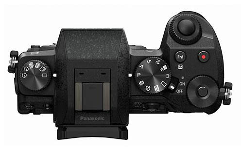 Panasonic G7 mirrorless camera top