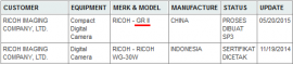 Ricoh GR II camera rumors