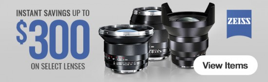Zeis lens instant savings
