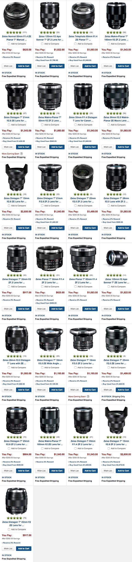 Zeis-lens-instant-savings