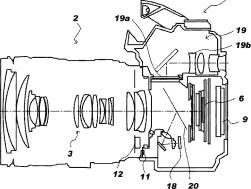 Canon translucent pellicle mirror camera EVF patent