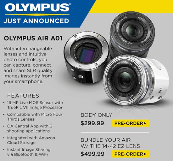 Olympus-AIR-A01-smartphone-camera-module