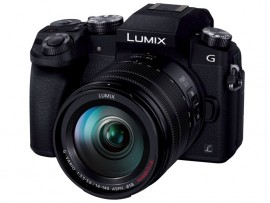 Panasonic matte black G7 camera