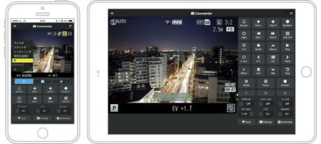 Ricoh GR II camera iPhone app