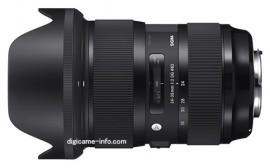 Sigma 24-35mm f:2 DG HSM Art  lens